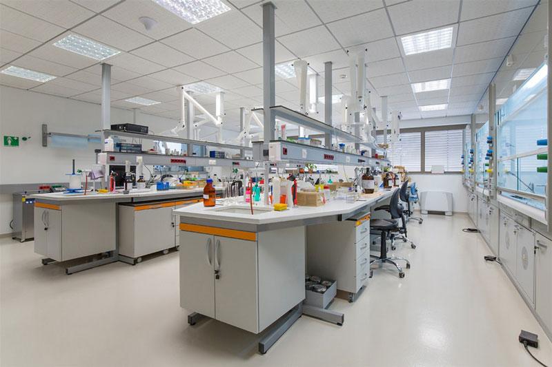 Laboratorium inrichting