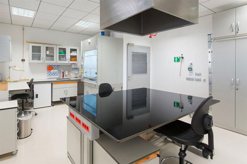 lab inrichting
