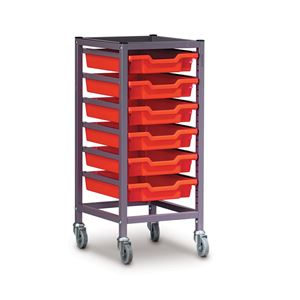 Gratnells trolley 370x420x725mm