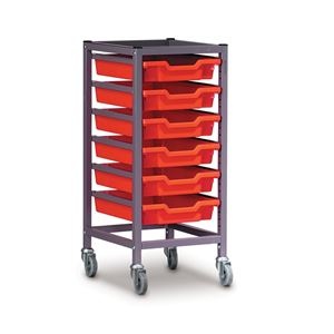 Gratnells trolley 370x420x850mm