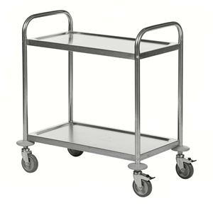 RVS trolley, 2 etages